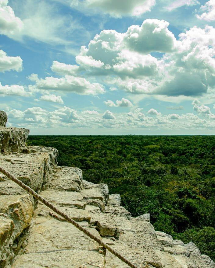 Ruines de Coba - Mexique